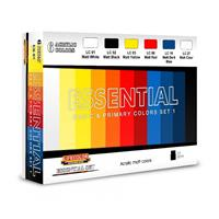 Essential Basic & Primary Colors Set 1