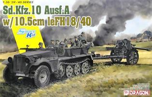 Sd.Kfz.10 Ausf.A + 10.5cm le.FH.18/40
