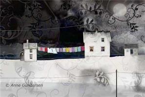 Anne Gundersen-Inhyllet i hvitt