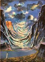 Elling Reitan-Det aftenrøde fjellet