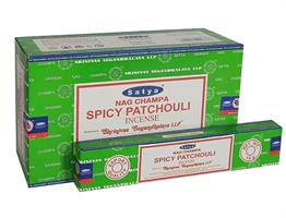 Spicy Patchouli  Satya rökelse