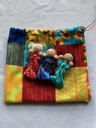 WORRY RELEASE DOLL BAG NR 4 -  FRONTSIDE