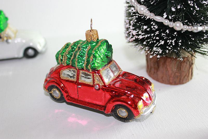 VW, boble med juletre
