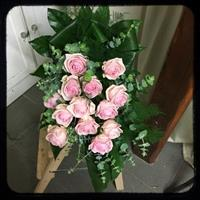 Begravningsbukett Britt-Marie