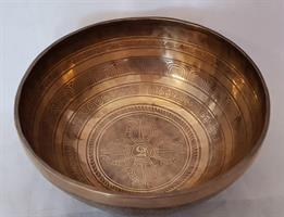 Klangskål Gravyr 28,5 cm