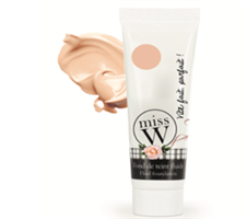 miss W Foundation 30ml - Light beige