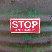 Magnet Stop and smile