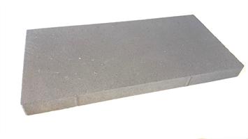 Mosaiken Plattor Slät Liten Fas Grafit 700x350x70 mm
