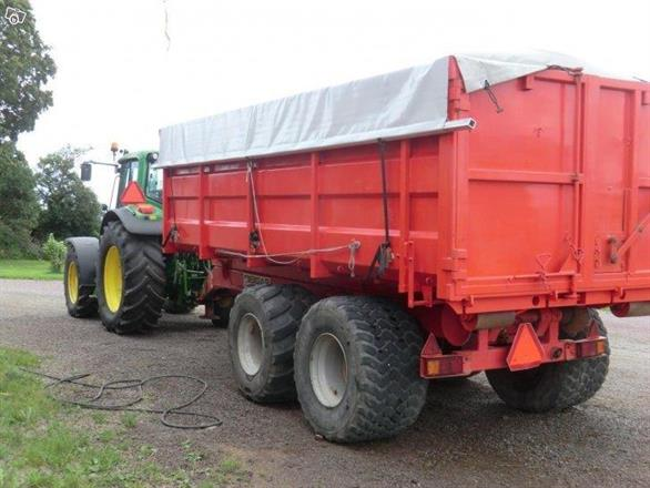 Lastväxlarflak Container 10-30 kbm