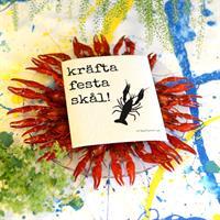 Design disktrasa från Erika Tubbin Kräfta festa sk