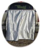 Silver Mesh Duk 7x10
