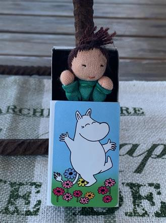 Mumintrollet dansar, grön dräkt - Klicka för att beställa!