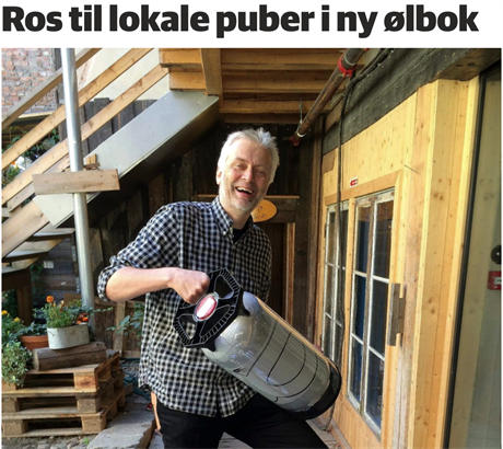 """Omtale av """"Den norske ølboka"""" i Østlendingen"""