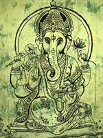 Ganesh dubbel grön