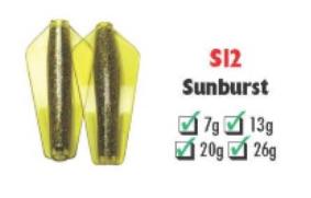 Tasmanian Devil Sunburst #S12 20 gram