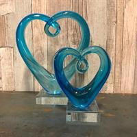 Hjärta blå