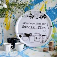 Bricka it's always time for Swedish fika från Erik