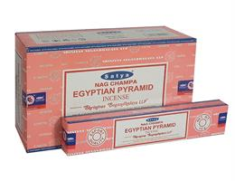 Egyptian Pyramid  Satya rökelse