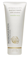 Sunscreen with Carotene