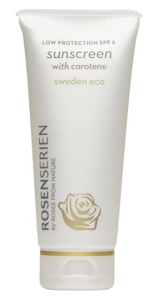 Sunscreen with Carotene