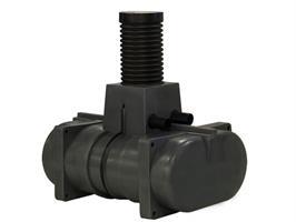 Rotomon 2/1000 Lågbyggd Slamavskiljare + Infiltrationspaket BDT