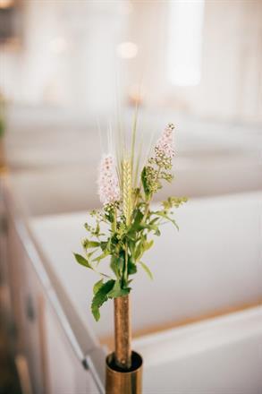 foto av Anna Maria Liljestrand Kyrkdekoration