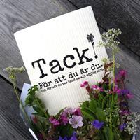 Design disktrasa från Erika Tubbin Tack för du är