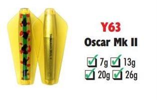 Tasmanian Devil Oscar Mk II #Y63 26 gram
