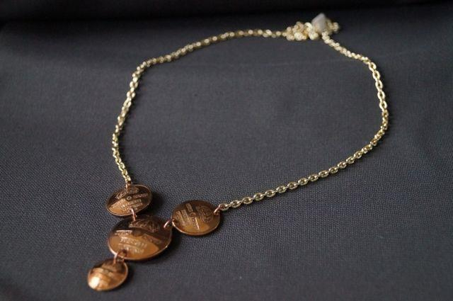 Halsband av mynt