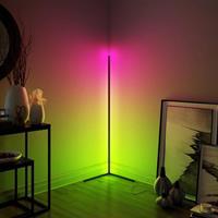 Moderne hjørne led lys 140cm RGB