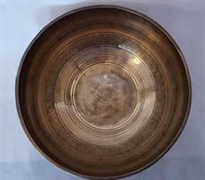 Klangskål Gravyr 26,5 cm