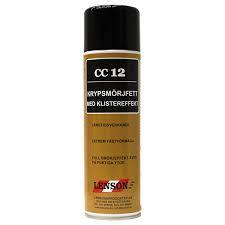 CC 12 KRYPSMÖRJFETT SPRAY 480 ML