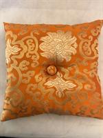 Klangskålskudde orange