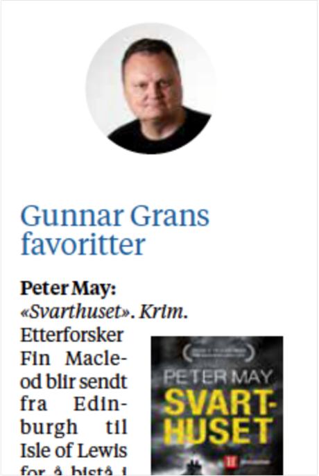 «Svarthuset» favoritt i Stavanger Aftenblad