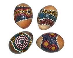 Ägg Maracas Aborigin 6,5X5 Cm