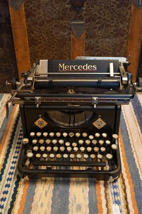 Skrivmaskin Mercedes
