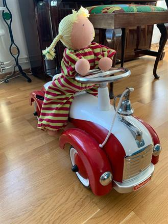 Passar perfekt på en leksaksbil!
