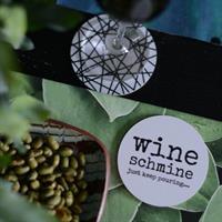 Glasunderlägg Wine från Erika Tubbin