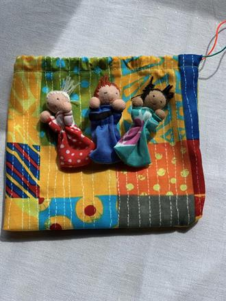 WORRY RELEASE DOLL BAG NR 5 -  FRONTSIDE