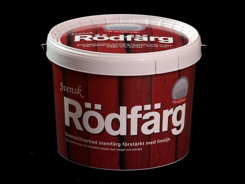 SVENSK RÖDFÄRG PRIMA 10 LIT