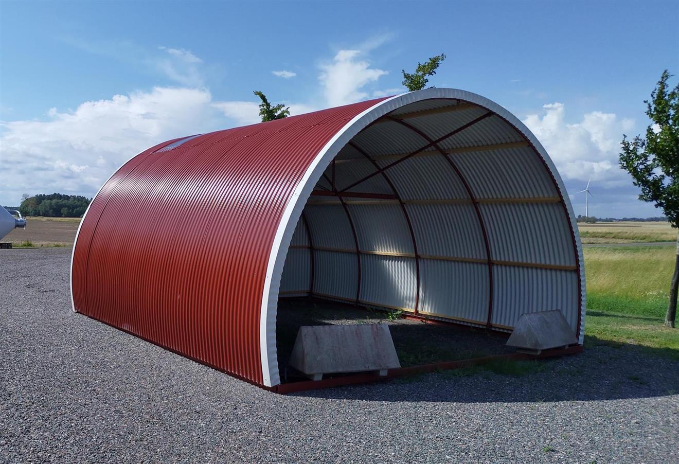 Standard hytte 5x6m Röd