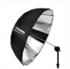 Umbrella Deep Silver M (105cm/41