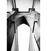 Tavla i plexiglas, New York bro