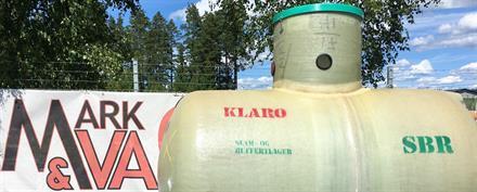 Klaro Reningsverk Glasfibertank 10pe