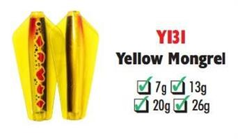 Tasmanian Devil Yellow Mongrel #Y131 26 gram