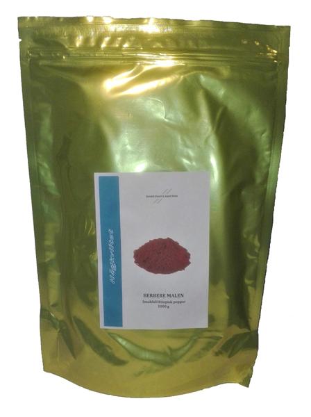 Berbere (etiopisk peppar) 1000g