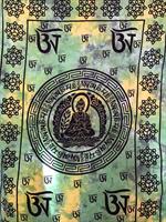 Buddha enkel grön