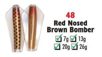 Tasmanian Devil Red Nosed Brown Bomber #48 26 gram