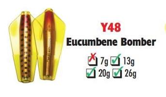 Tasmanian Devil Eucumbene Bomber #Y48 26 gram
