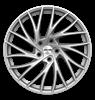 GMP ENIGMA 20x8.5 Satin Silver